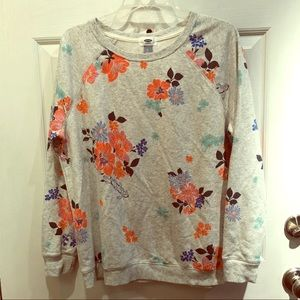 Old Navy sweatshirt with flowers